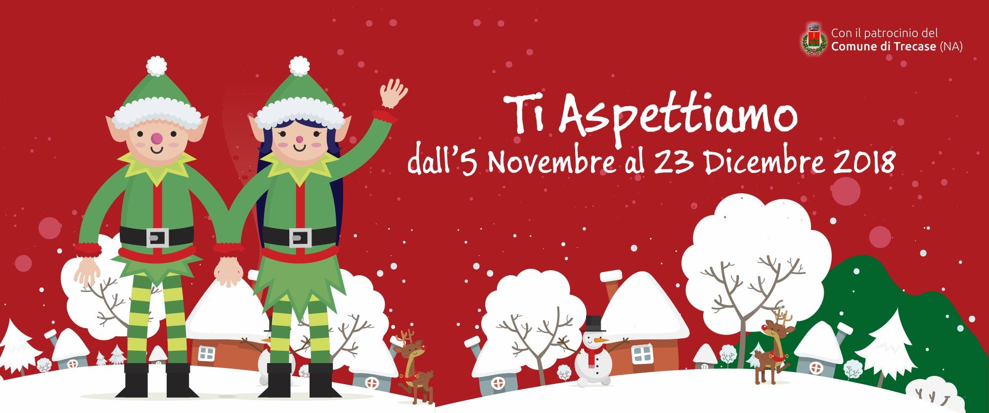 Dove E Babbo Natale.Il Meraviglioso Villaggio Di Babbo Natale Trecase Napoli